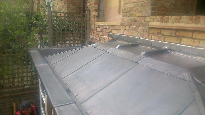 lead bin shed roof chelsea 1